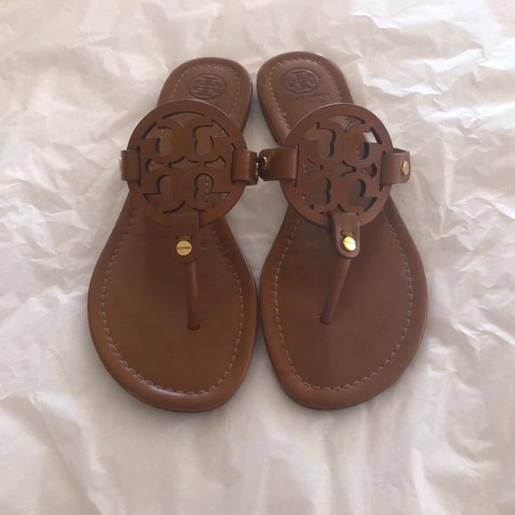d871fef17 Tory Burch Shoes | Miller Sandals Vintage Vachetta | Poshmark